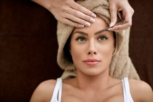 Eyebrow treatment at Serenity Hairdressing & Beauty in Crawley
